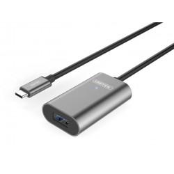 Unitek Przedłużacz aktywny USB Typ-C 3.1 na USB Typ-A, 5m