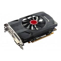 XFX Karta graficzna RX 550 2GB GDDR5 1203/7000 Dual Slot (DP HDMI DVI)