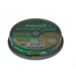 Maxell płyta DVD+R 4,7 16x cake 10