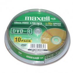 Maxell plyta DVD-R 4,7 16x cake 10