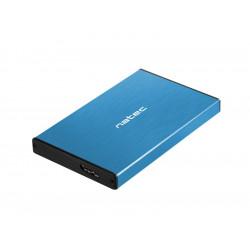NATEC Kieszeń zewnętrzna HDD/SSD Sata Rhino Go 2,5 USB 3.0 niebieska