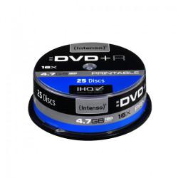 Intenso DVD+R 16x 4,7GB Printable (25 Cake)