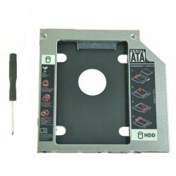 Qoltec Kieszeń na drugi dysk 2.5 HDD | 12,7mm