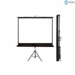 4world Ekran projekcyjny ze statywem 203x152 (100'',4:3) biały mat