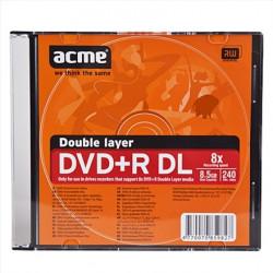 ACME Europe Płyta DVD+R 8.5GB x8, Double Layer, slim box