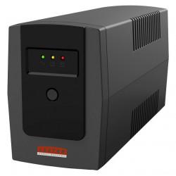 Lestar Zasilacz awaryjny UPS ME-655u 650VA/390W AVR 4xIEC USB RJ11