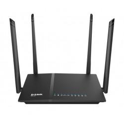 D-Link Router AC1200 DIR-825 1xWAN 4xLAN-1GB 1xUSB