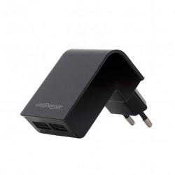 Gembird Ładowarka 2 portowa USB 2.1A/czarna