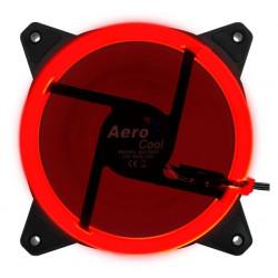 AeroCool Wentylator REV LED czerwony