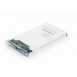 Gembird Obudowa zewnętrzna 2.5 USB 3.0 przezroczysta