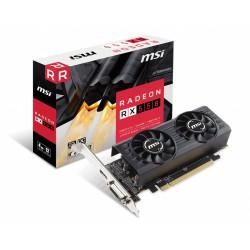 MSI Karta graficzna Radeon RX 550 4GT LP OC 4GB 128BIT HDMI/DVI-D