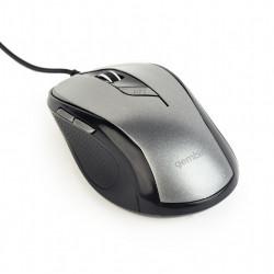 Gembird Mysz optyczna USB czarno-szara
