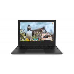 Lenovo Laptop 100e STF 81M8000PPB W10Pro EDU Academic N4100/4GB/128GB/INT/11.6 HD/Black/1YR CI
