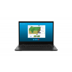 Lenovo Laptop 14w 81MQ000DPB W10Pro EDU Academic A6-9220C/4GB/128GB/INT/14.0 FHD/Black/1YR CI